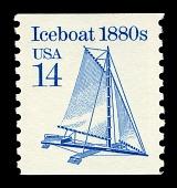 view 14c Iceboat single digital asset number 1