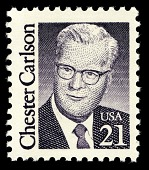 view 21c Chester Carlson single digital asset number 1