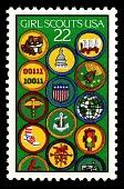 view 22c Girl Scouts Achievement Badges single digital asset number 1