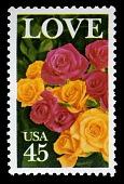 view 45c LOVE roses single digital asset number 1