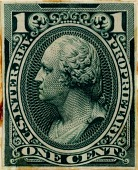 view 1c Proprietary general issues revenue stamp plate proof digital asset number 1