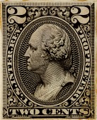 view 2c Proprietary general issue revenue stamp plate proof digital asset number 1