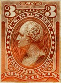 view 3c Proprietary general issues revenue stamp plate proof digital asset number 1