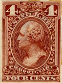view 4c Proprietary general issue revenue stamp plate proof digital asset number 1