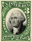 view 3c Proprietary revenue stamp proof digital asset number 1