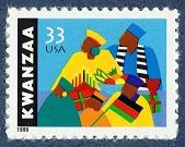 view 33c Kwanzaa single digital asset number 1