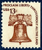 view 13c Liberty Bell booklet single digital asset number 1