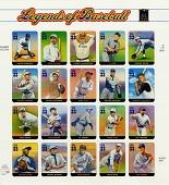 view 33c Legends of Baseball pane of twenty digital asset number 1