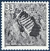 view 33c Man Walks on the Moon single digital asset number 1