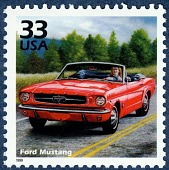view 33c Ford Mustang single digital asset number 1