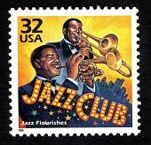 view 32c Jazz Flourishes single digital asset number 1