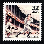 view 32c Babe Ruth single digital asset number 1
