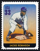 view 33c Jackie Robinson single digital asset number 1