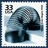 view 33c Slinky Craze Begins 1945 single digital asset number 1
