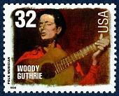 view 32c Woody Guthrie single digital asset number 1