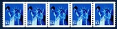 view 34c Statue of Liberty coil strip of five digital asset number 1