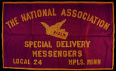 view Special Delivery Messengers' Association banner digital asset number 1