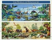 view 32c Dinosaurs sheet of fifteen digital asset number 1