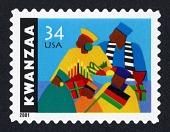 view 34c Kwanzaa single digital asset number 1