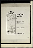 view Photograph of cachet art for Contract Airmail Route 1002 digital asset number 1