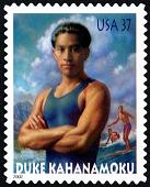 view 37c Duke Kahanamoku single digital asset number 1