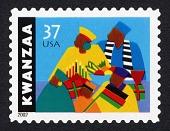 view 37c Kwanzaa single digital asset number 1