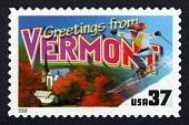 view 34c Greetings from Vermont single digital asset number 1