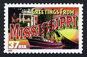 view 37c Greetings from Mississippi single digital asset number 1