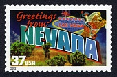 view 37c Greetings from Nevada single digital asset number 1