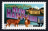 view 37c Greetings from New Hampshire single digital asset number 1