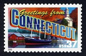 view 37c Greetings from Connecticut single digital asset number 1