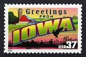 view 37c Greetings from Iowa single digital asset number 1