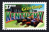view 37c Greetings from Kentucky single digital asset number 1