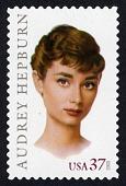 view 37c Audrey Hepburn single digital asset number 1