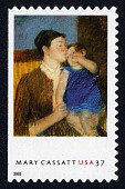 "view 37c Mary Cassatt ""Young Mother"" single digital asset number 1"