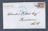 view 5c red brown Franklin on cover digital asset number 1