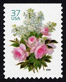 view 37c White Lilacs and Pink Roses single digital asset number 1