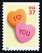 view 37c Candy Hearts single digital asset number 1