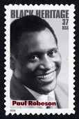 view 37c Paul Robeson single digital asset number 1