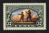 view 37c Meriwether Lewis and William Clark on Hill single digital asset number 1