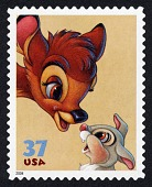 view 37c Bambi and Thumper single digital asset number 1