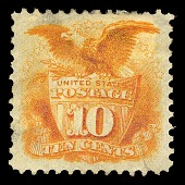 view 10c Shield and Eagle re-issue single digital asset number 1