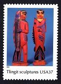 view 37c Tlingit Sculptures single digital asset number 1