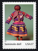 view 37c Seminole Doll single digital asset number 1