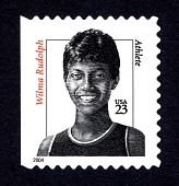 view 23c Wilma Rudolph single digital asset number 1