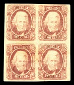 view 2c Andrew Jackson block of four digital asset number 1