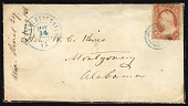 view Confederate mourning cover digital asset number 1
