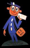 view Mr. ZIP standing cut-out digital asset number 1