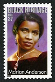 view 37c Marian Anderson single digital asset number 1