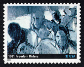 view 37c 1961 Freedom Riders single digital asset number 1